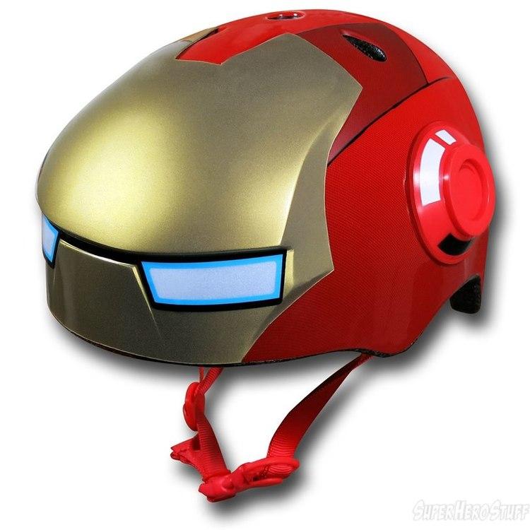 Iron Man Street Bike Iron-man-kids-bike-helmet-00