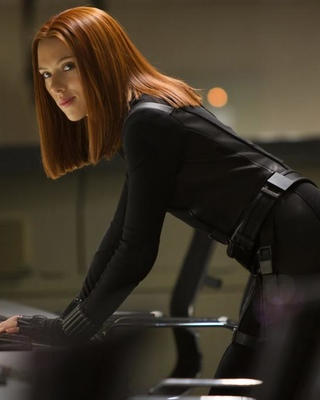 New CAPTAIN AMERICA 2 Featurette Highlights Black Widow ...Captain America 2 Poster Black Widow