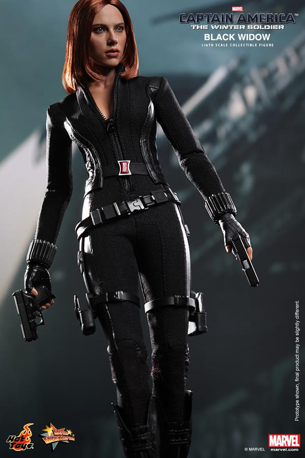Hot Toys' CAPTAIN AMERICA 2 Black Widow Collectible Figure ...Captain America 2 Poster Black Widow