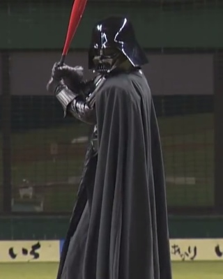 Darth Vader Hits A Home Run Of Death Geektyrant