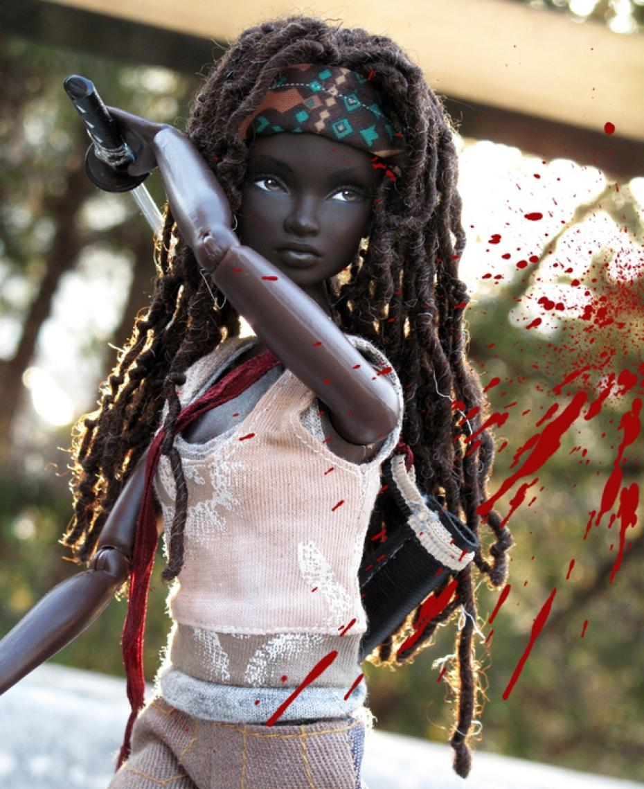 custom-made-the-walking-dead-michonne-barbie