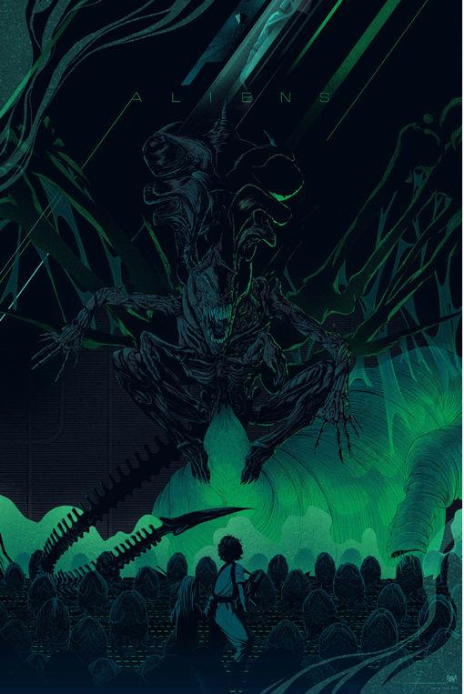Mondo Poster Art For Flash Gordon Aliens Psycho And
