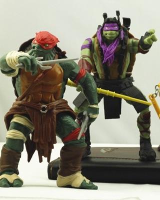 Better Look at Michael Bay's NINJA TURTLES as Toys ...