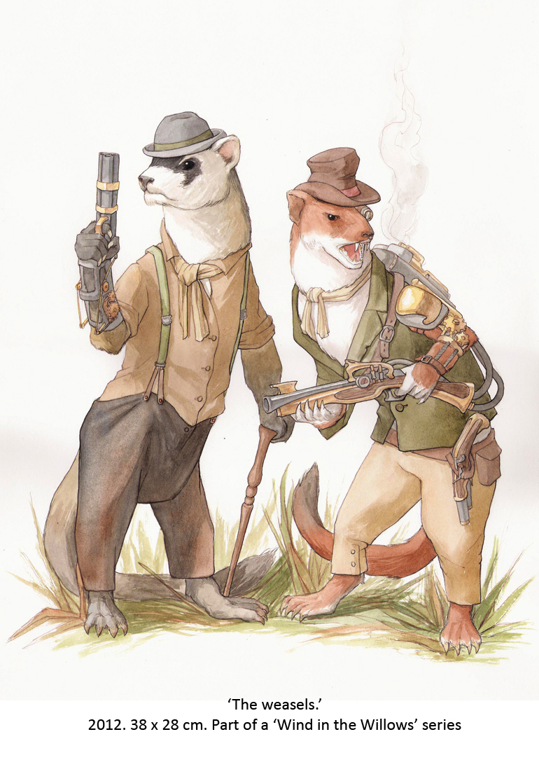the_weasels_by_wovenlines-d4vilef.jpg