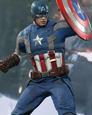 captain america 2 golden age hot toys collectible