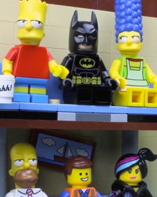 LEGO Stop-Motion SIMPSONS Couch Gags — GeekTyrant