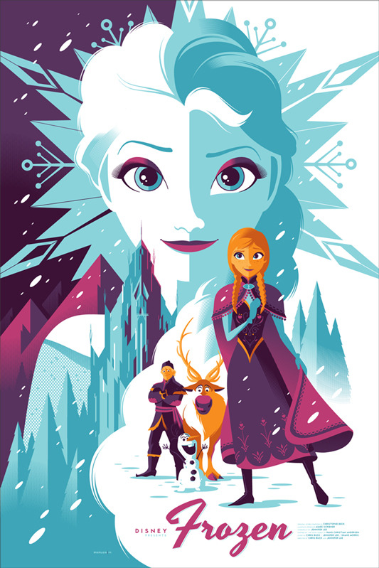 mondos-frozen-and-american-hustle-poster-art