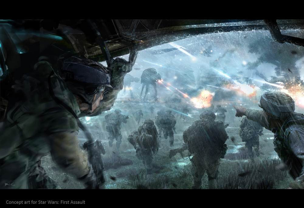 star wars fire assault