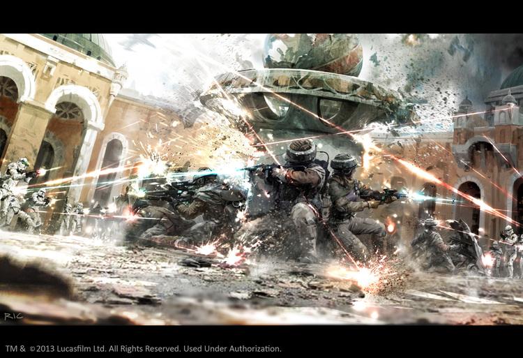 """Tolle StarWars Bilder """"Best of"""" - Seite 3 Action-packed-stormtrooper-star-wars-art-fire-assault4?format=750w"""