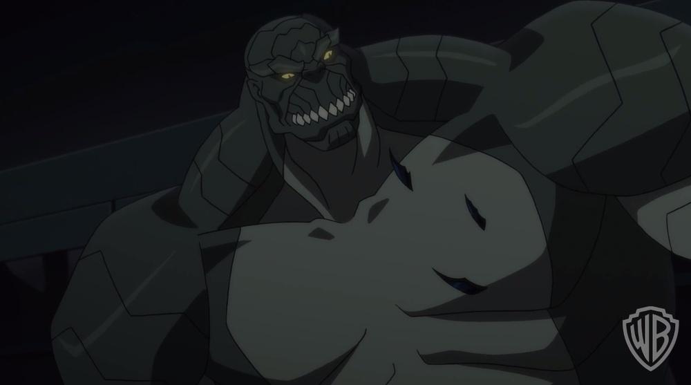 son-of-batman-film-clip-killer-croc-vs-batman