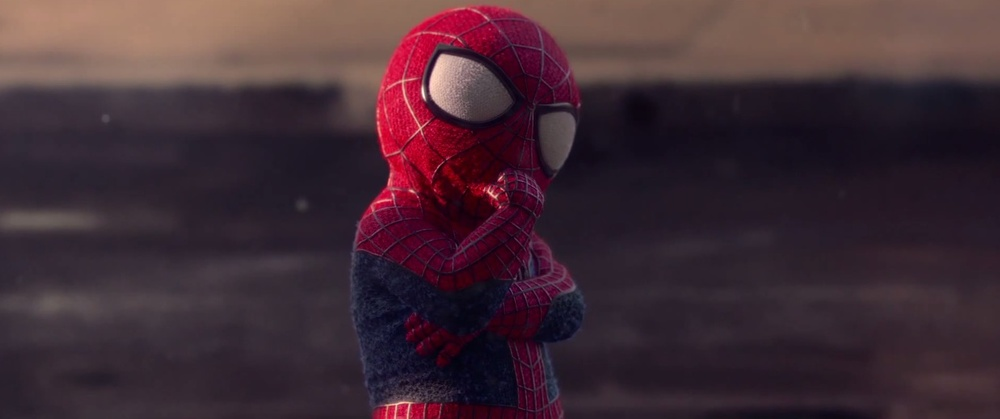 Baby Spider-Man Busts Some Dance Moves in Evian AdSpiderman Baby Gif