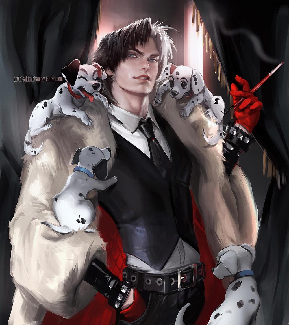 Male Cruella Deville