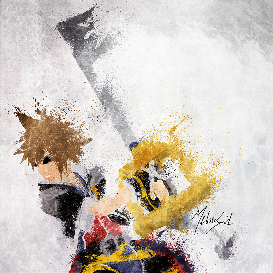 Sora of Kingdom Hearts
