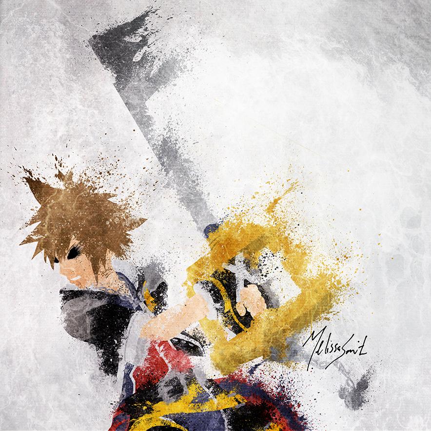 Sora of Kingdom Hearts