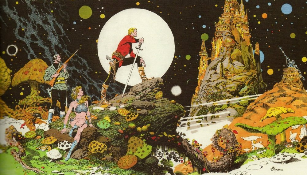Al Williamson Flash Gordon Spread.jpg