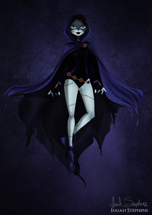 Sally Skellington as Raven