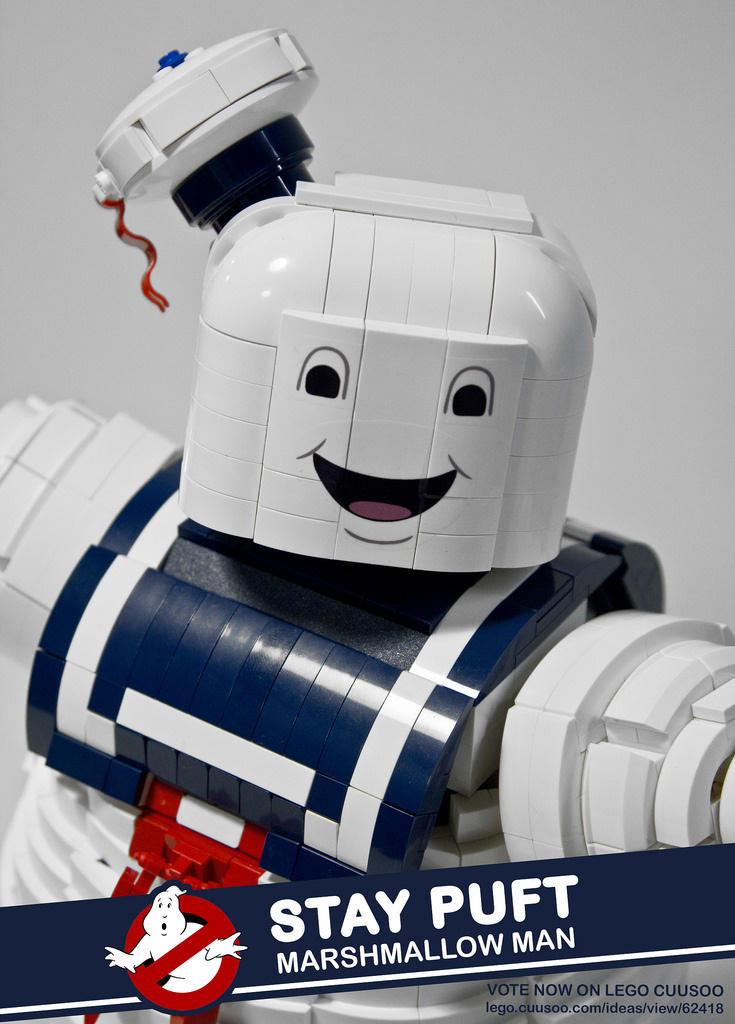 Amazing Ghostbusters Stay Puft Lego Set Geektyrant