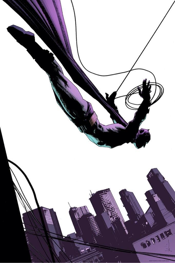 BATMAN: THE BLACK MIRROR Art by Jock