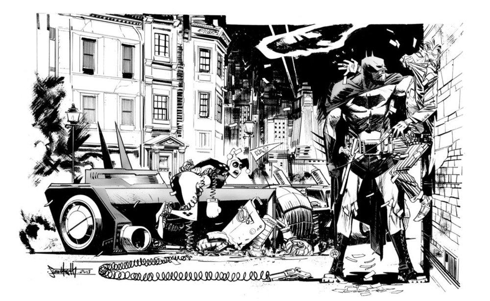 http://seangordonmurphy.deviantart.com/art/BATMAN-Joker-Harley-commission-400910710