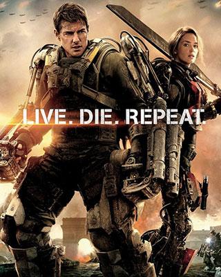 Edge Of Tomorrow Poster Live Die Repeat Geektyrant