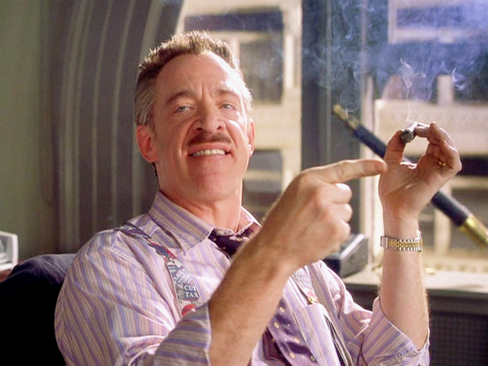 j. jonah jameson to appear in future amazing spider-man movie