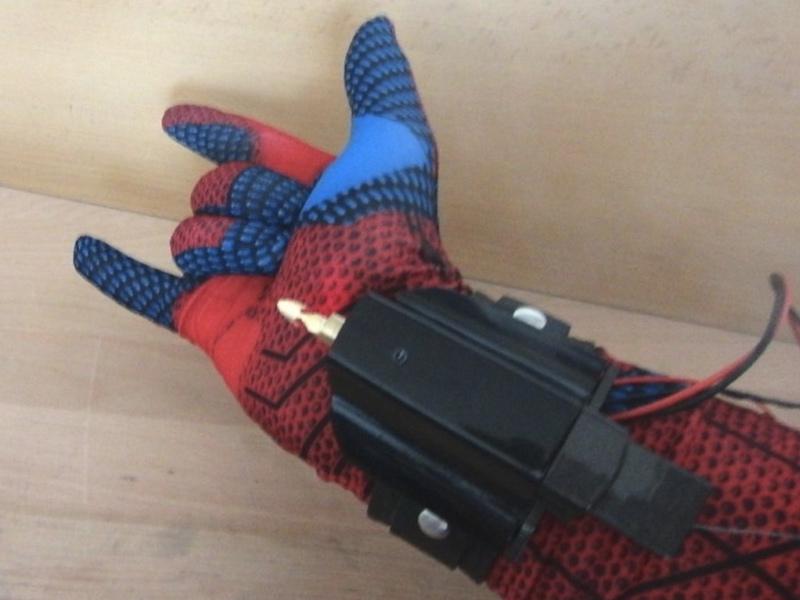 Как сделать паутину человека паука чтобы летать в домашних условиях