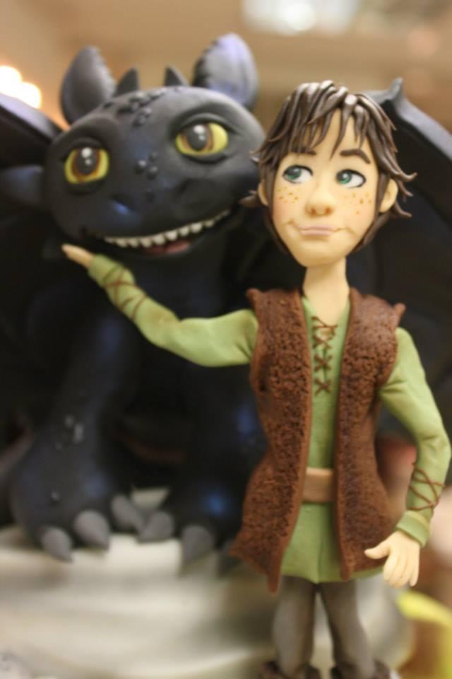 Incredible How To Train Your Dragon Cake Design Geektyrant