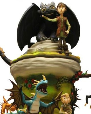 Incredible HOW TO TRAIN YOUR DRAGON Cake Design   GeekTyrant