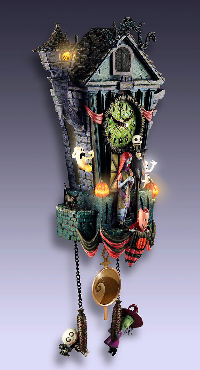 magnificent nightmare before christmas cuckoo clock - Nightmare Before Christmas Clock