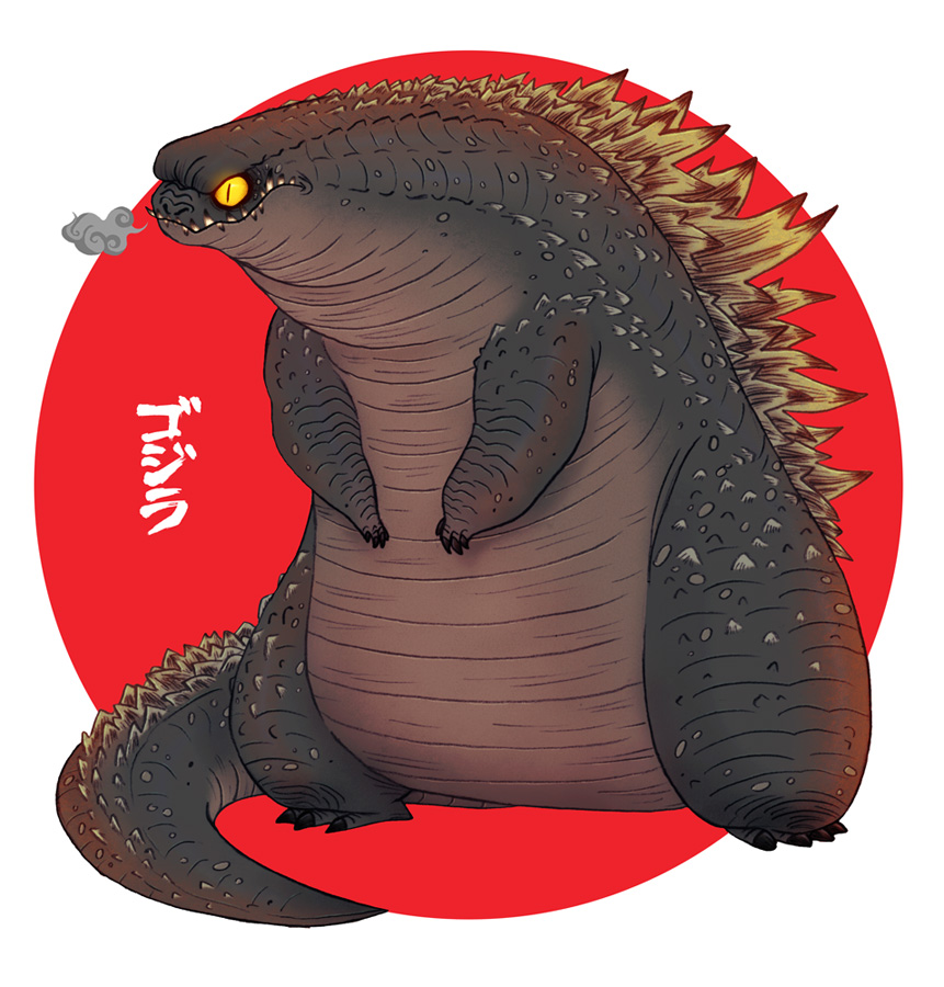 fun-godzilla-fan-art-and-japanese-fans-say-americas-godzilla-is-too-fat