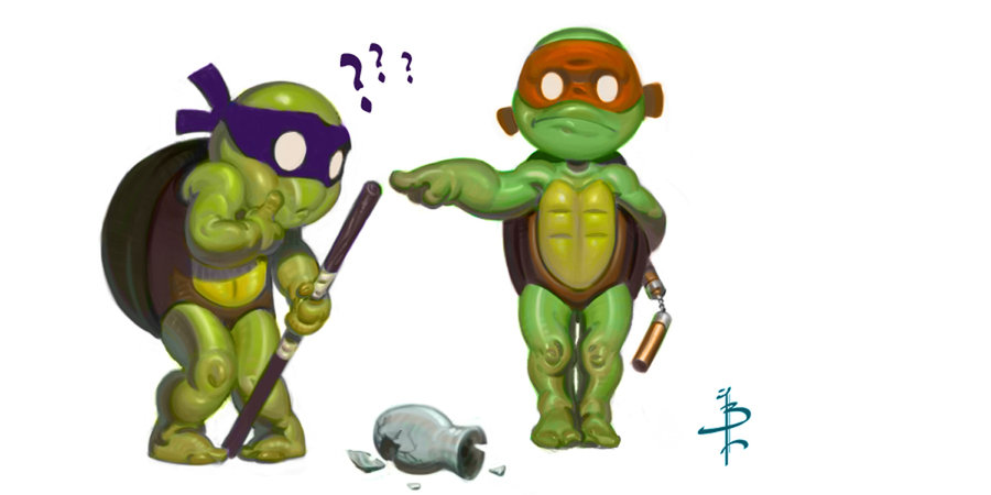 TMNT_DONNY_AND_MIKE_by_FUNKYMONKEY1945.jpg