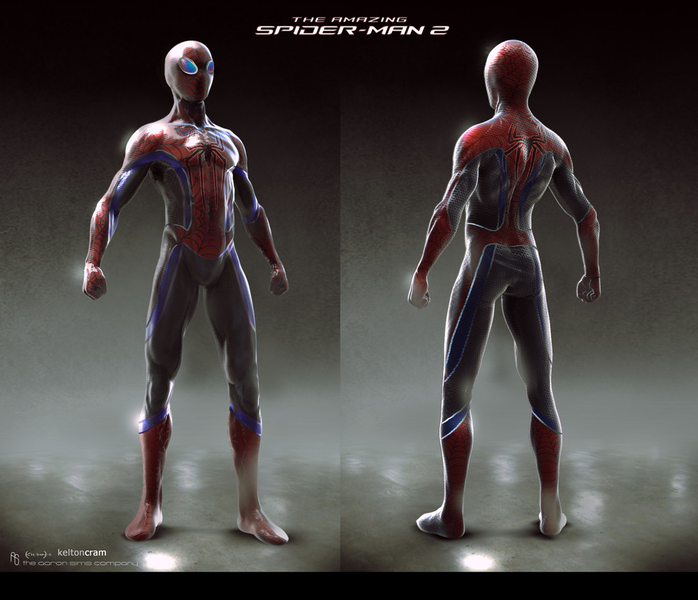 Alternate Designs for Rhino, Spider-Man and Green Goblin ...