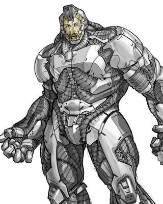 alternate designs for rhino spiderman and green goblin