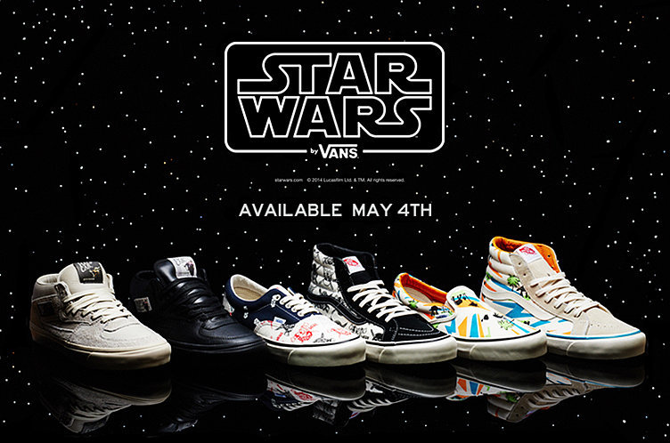 520516cdc9 Radical STAR WARS Shoes by Vans — GeekTyrant