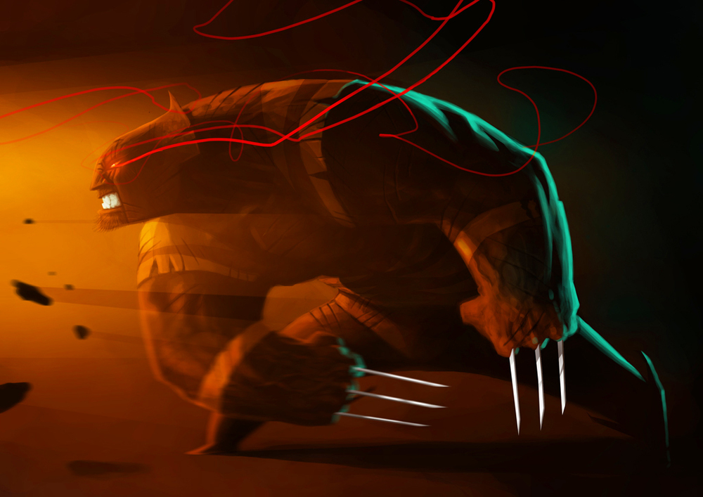 smashing-wolverine-fan-art-by-nicolas-leger