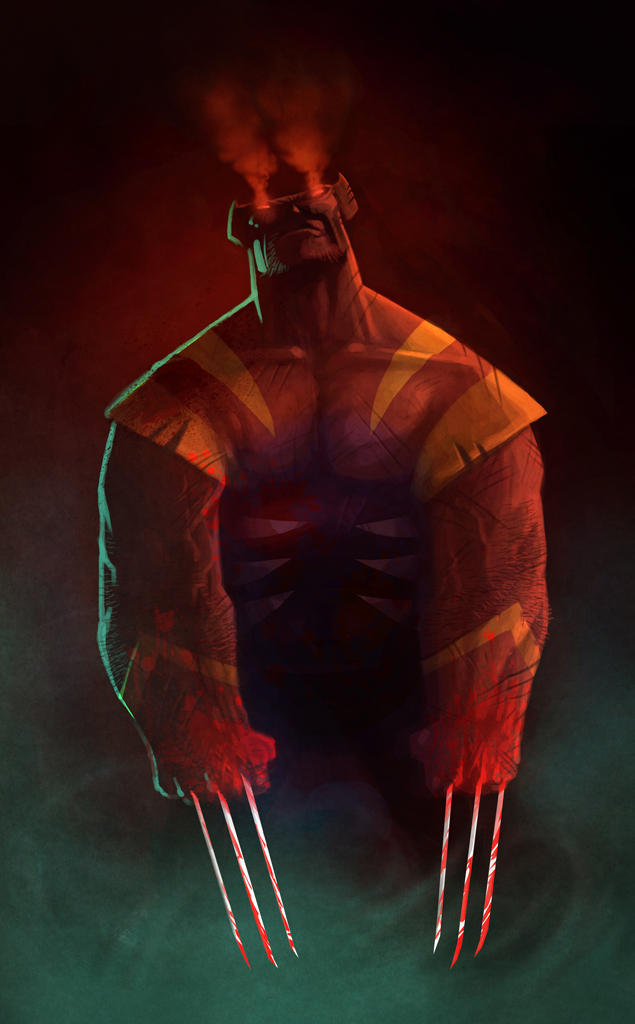 smashing-wolverine-fan-art-by-nicolas-leger1