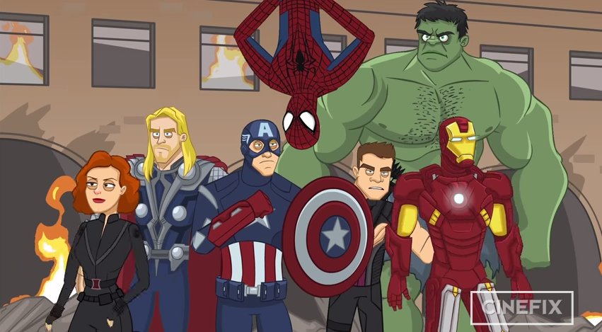 spider-man-wants-in-on-the-avengers-in-this-animated-short