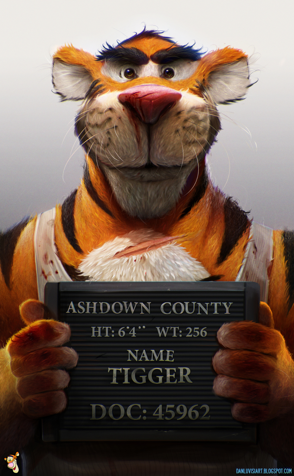 hardcore-tigger-mugshot-art-from-winnie-the-pooh