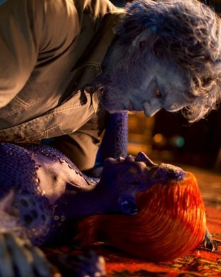 xmen days of future past new photos of beast and