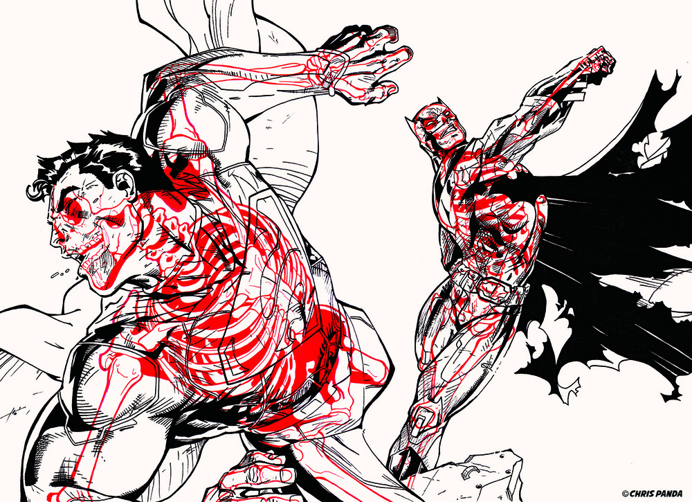 how to draw comic book characters body
