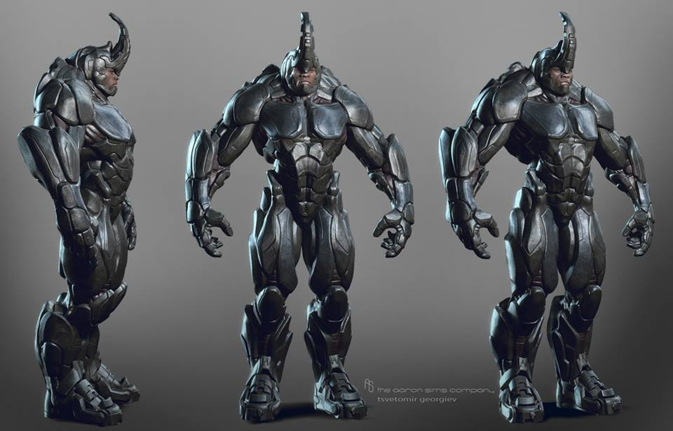 Best Rhino Concept Art from THE AMAZING SPIDER-MAN 2 I've ...