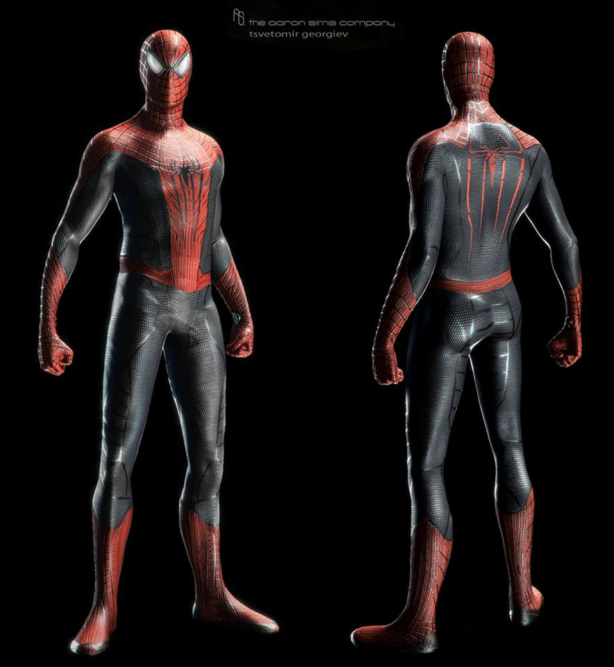 Go Back > Gallery F... Amazing Spider Man 2 Electro Concept Art