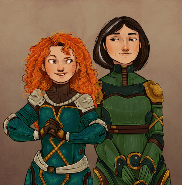 Ursa Major– Merida & Elinor