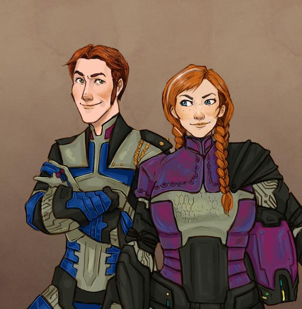 Frozen Heart -Hans and Anna