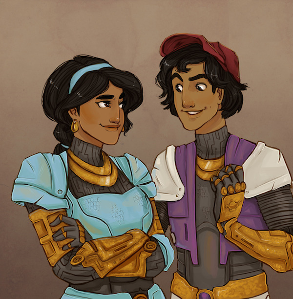 Arabian Knight– Jasmine & Aladdin