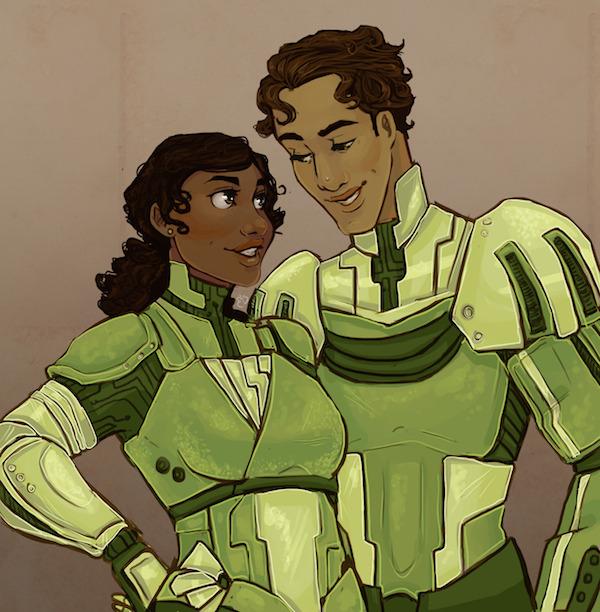 Evening Star– Tiana & Naveen