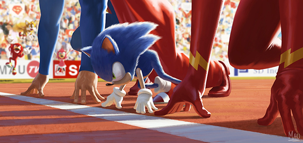 flash sonic the hedgehog