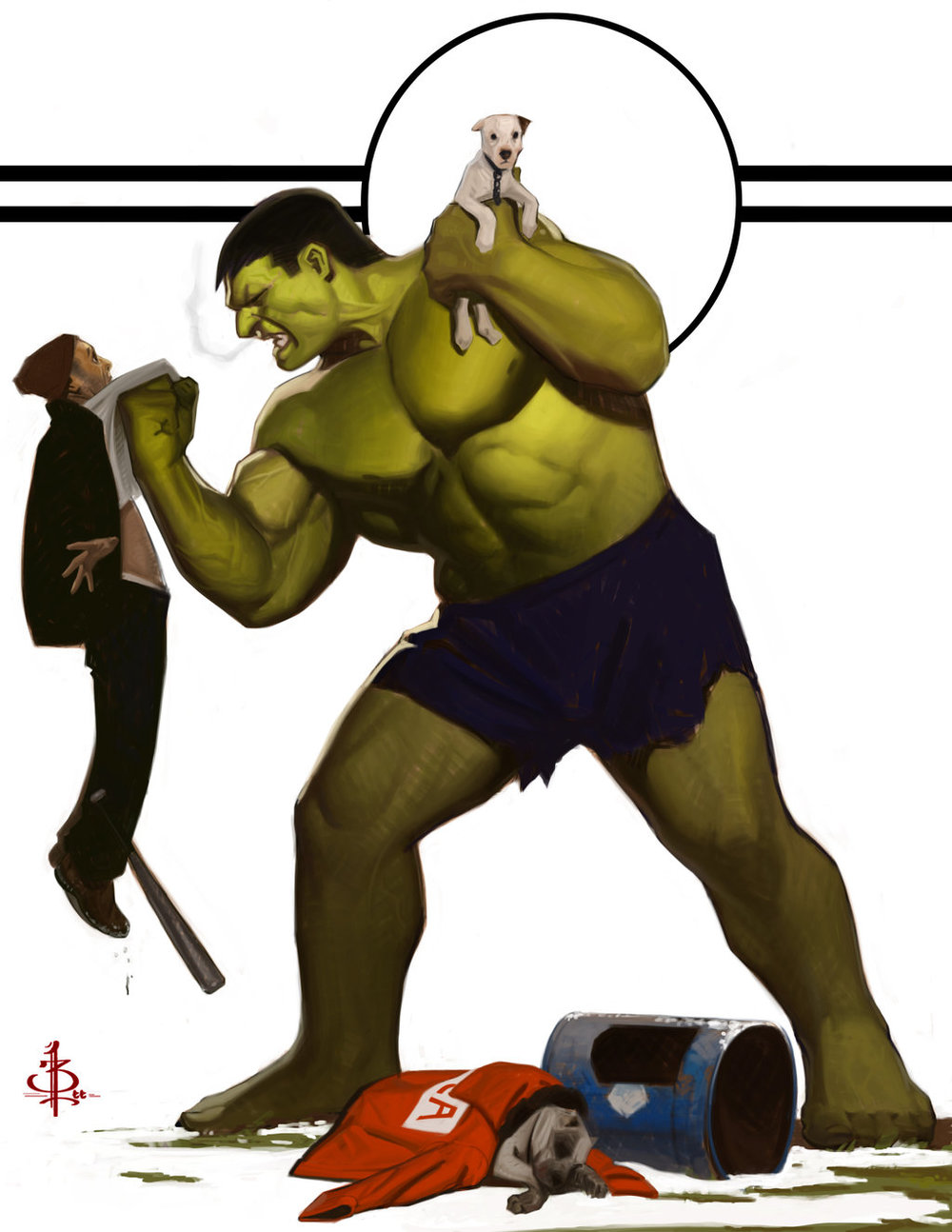 pick-on-someone-your-own-size-hulk-fan-art