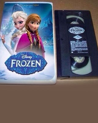 what if disney released frozen on vhs trailer and photo