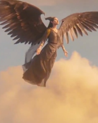 Maleficent Takes To The Sky In New Clip In The Clouds